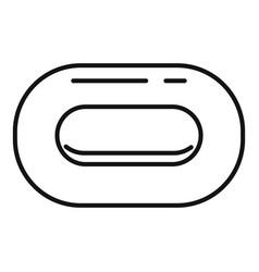 Sauna soap icon outline style vector