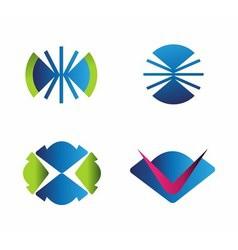 Set of logo vector