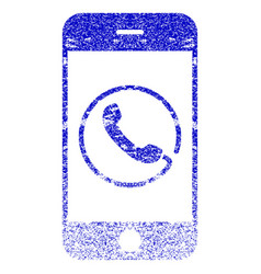 Smartphone phone textured icon vector