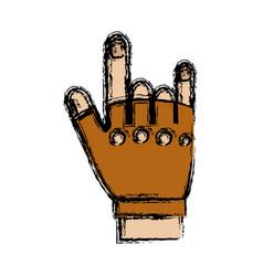 Sport gloves design vector