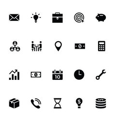 Trading Icons 1 vector