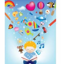 boy vector image