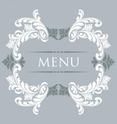 menu 29 vector image vector image