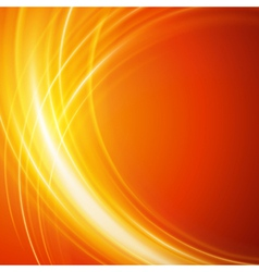 Abstract smooth light lines background vector image vector image