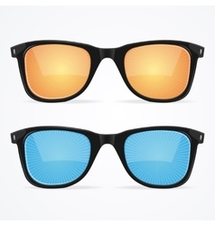 Sunglasses Hipster Style vector image