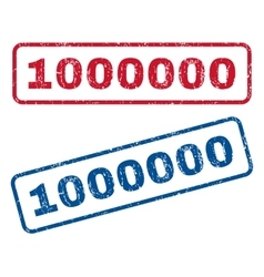 1000000 Rubber Stamps vector image