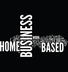 Are you ready to invest in a home based business vector