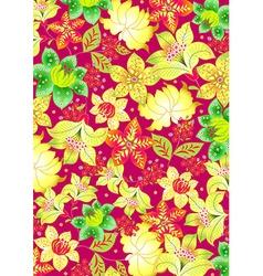 Bali floral vector