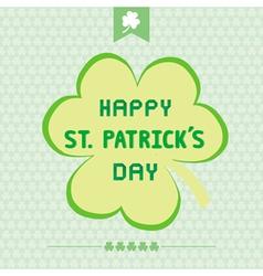 Happy Saint Patrick s Day3 vector image