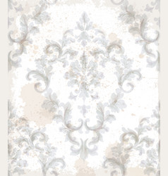 Imperial baroque pattern background vector