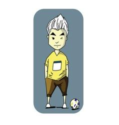 Man football vector