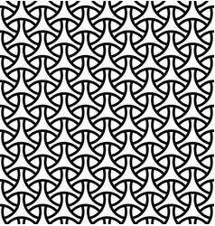 seamless pattern in black geometric linesfor vector image