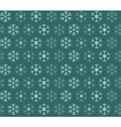 Seamless pattern with christmas snowflakes vector image