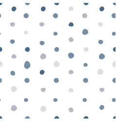 Simple polka dot seamless pattern scandinavian vector