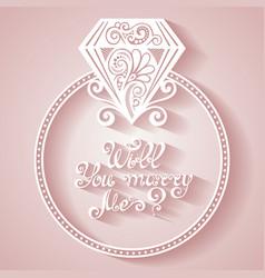 Wedding design icon vector