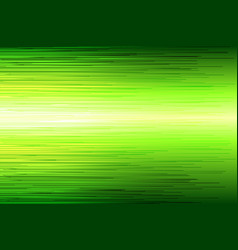 green high speed line abstract background vector image