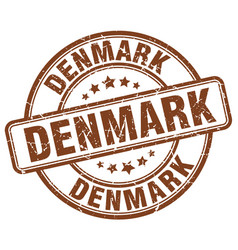 Denmark stamp vector