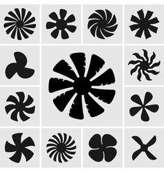 Fans vector image
