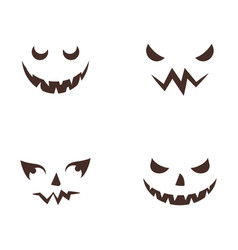 happy halloween icon vector image