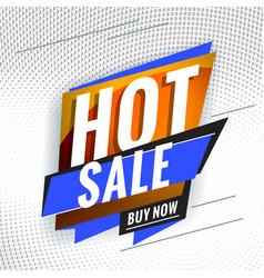 Hot sale promotional concept template for banner vector