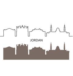 jordan vector image