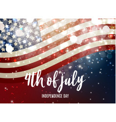 July 4 independence day in usa background can be vector