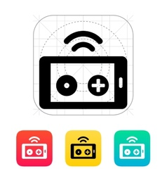 Phone remote controller icon vector image