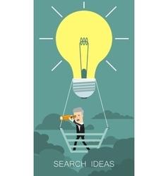 Search Idea Business concept cartoon vector