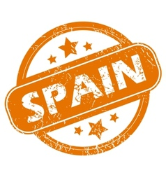 Spain grunge icon vector image
