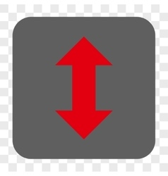 Vertical Exchange Arrows Rounded Square Button vector