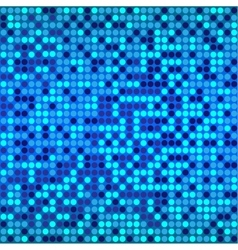 disco blue background vector image