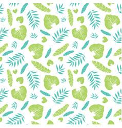 light tropical summer hawaiian seamless vector image vector image