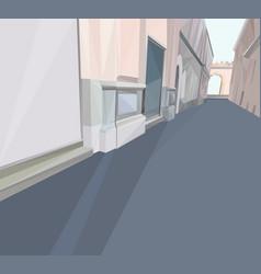 01 Polygonal Street vector