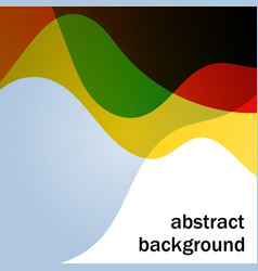 abstract background with multicolor transparent vector image