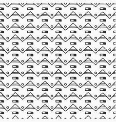 abstract seamless hand drawn ethnic pattern of vector image