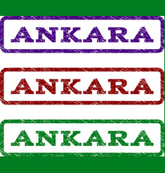 Ankara watermark stamp vector