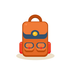Backpack Education Design vector image