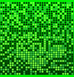 disco green background vector image
