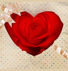Flower heart EPS 10 vector