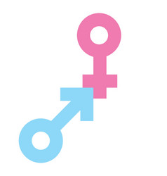 Gender sign1 resize vector image
