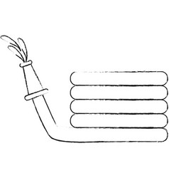 hose water equipment vector image