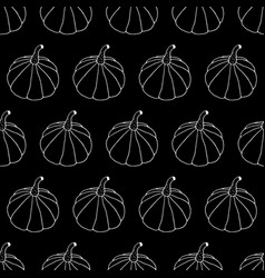 Monochrome Halloween Pattern vector