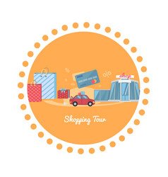 Shopping Tour vector