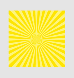 Sunburst pattern vector image