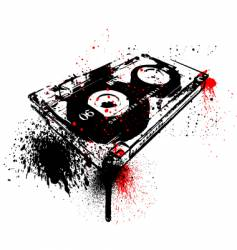 graffiti tape vector image