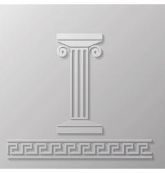 marble column vector image