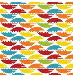 crocodiles vector image vector image