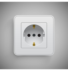 Socket Electrical outlet vector image