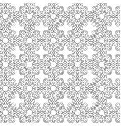 Arabesque star seamless pattern vector