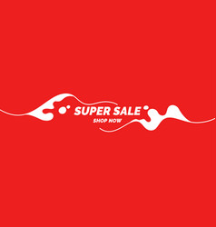 best banner sale the original poster discount vector image